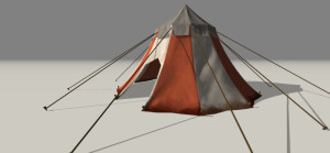 Medieval Tent Big Asset